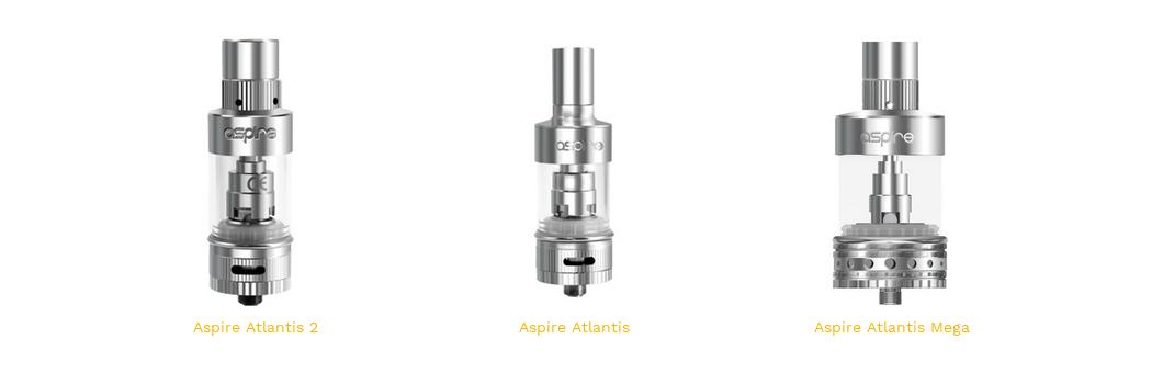Atlantis 1, 2 et Mega Aspire