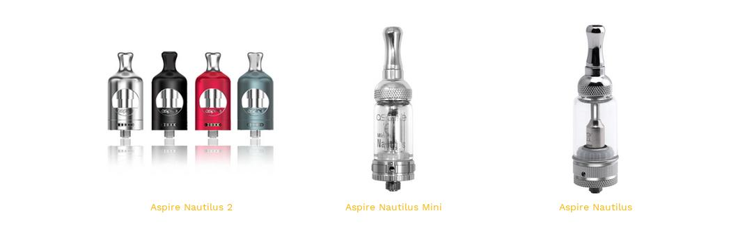 Nautilus 1, 2 et Mini