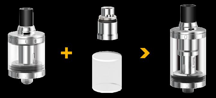 Convertir nautilus x 2ml en 4ml