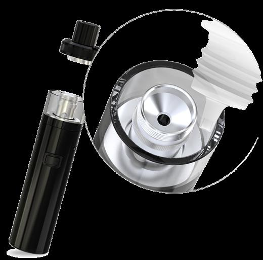 Remplissage e-liquide cigarette électronique ijust one eleaf