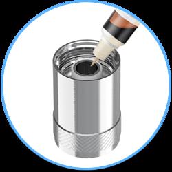 Amorçage d'une tête d'atomiseur pour cigarette électronique