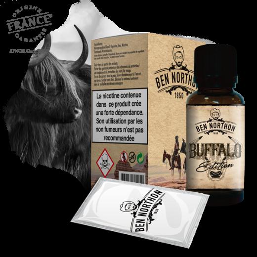 e-liquide e-cigarette Buffalo Edition ben northon