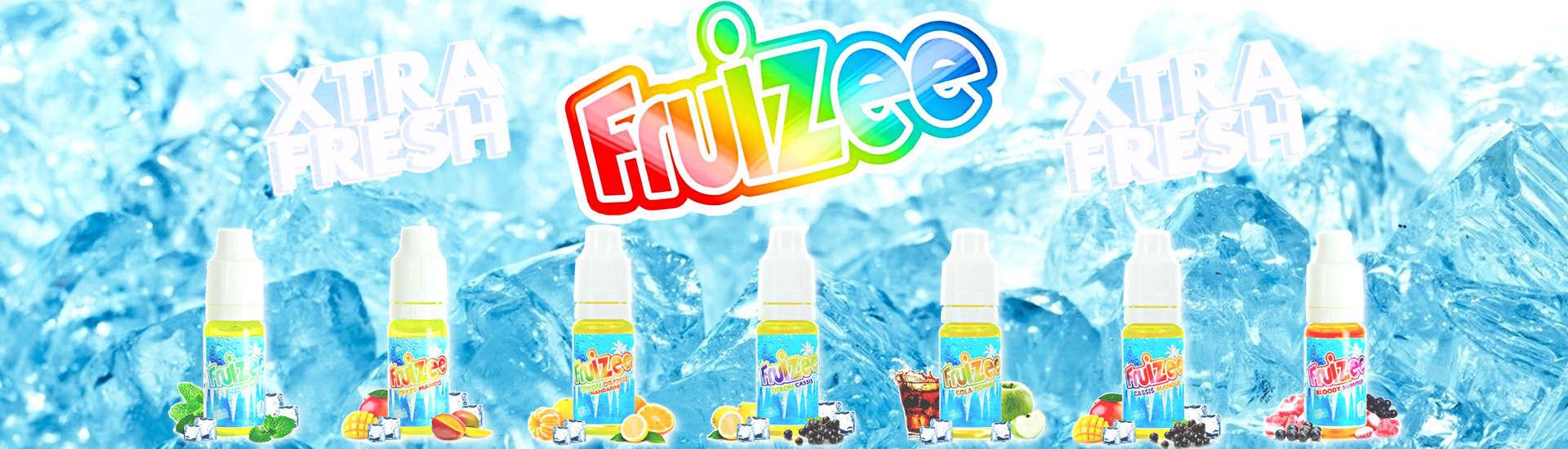 E-liquide FRuizee Xtra fresh